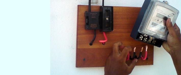 utility theft, tamper