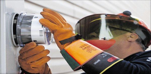 Quebec smart meter installation