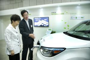 Vehicle to grid South Korea KEPCO pilot