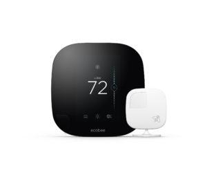 ecobee3 smart thermostat multiple sensors