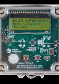 MAXREFDES70Low power ultrasonic flow meter