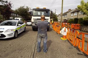 Irish Water protest stops AMR meter installation