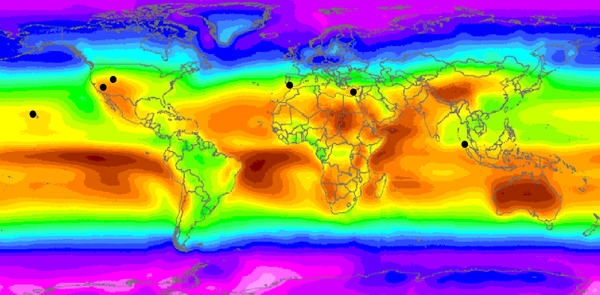 World irradiation levels report on suboptimal deployment