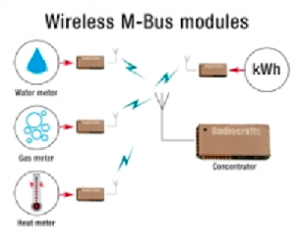 Radiocrafts wireless mesh  AMI  India