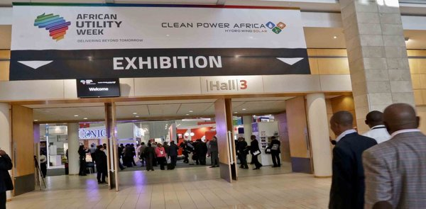 African Utility Week Exhibition Hall German Pavilion