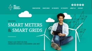 My Smart Energy website EDSO ESMIG
