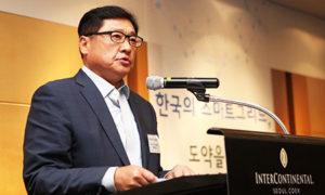 Korea Smart Grid Association Koo Ja-kyun calls for governmet help to boost smart grid