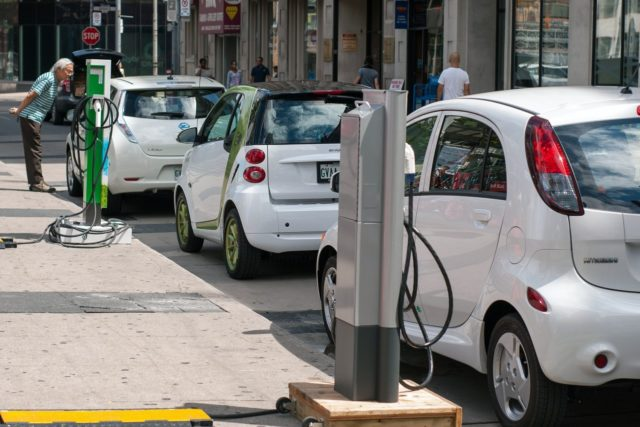 California utilities EVs