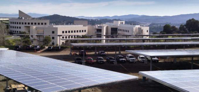 Novata solar energy plant