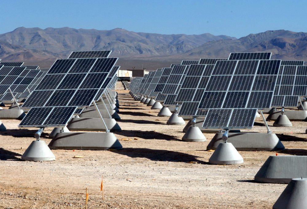 solar PV power olant