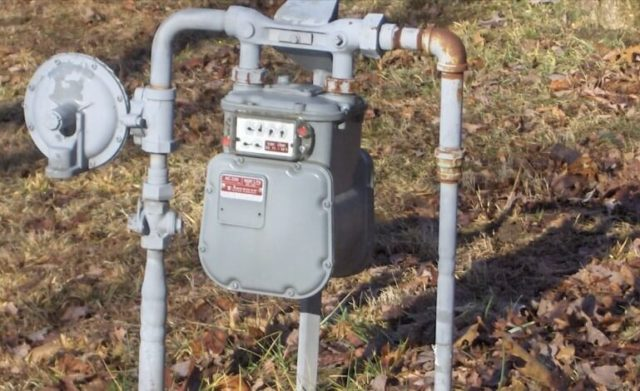 Vectren gas meters ERTs