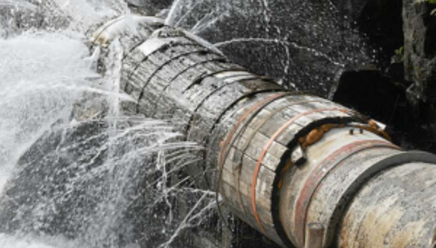 water leakage