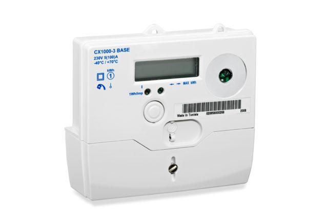 Sagemcom electricity meter