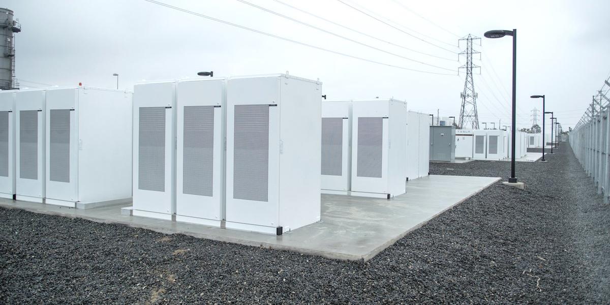 SCE Tesla Energy Storage project