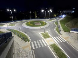smart LED street lights