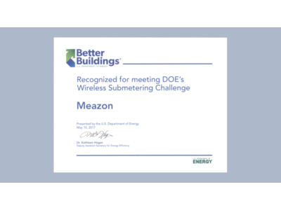 News: Meazon US Doe Wireless Submetering Challenges Success by Meazon