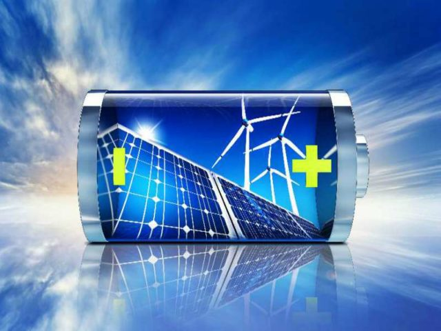 Total energy storage