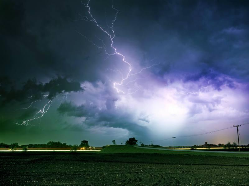 Louisiana storms