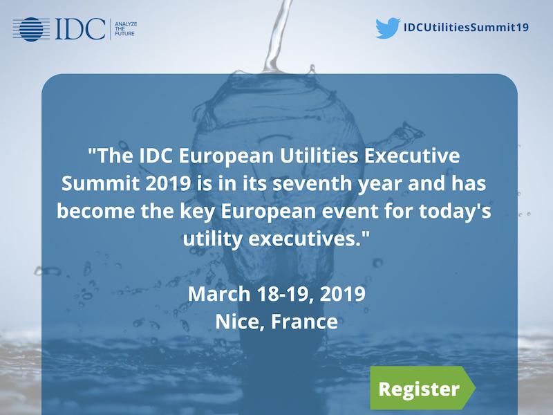 IDC European Utilities Executive Summit