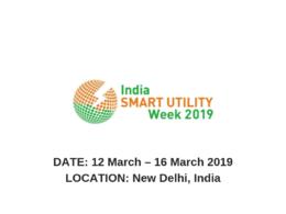 India Smart Utilities Week 2019