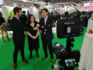 Ross, Areti & Patrick at wrap up of day 2 EUW18