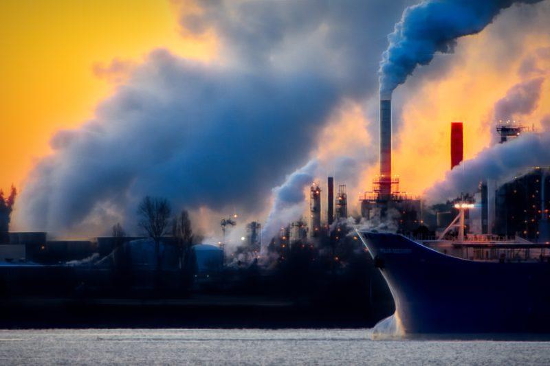 UK carbon dioxide, emissions