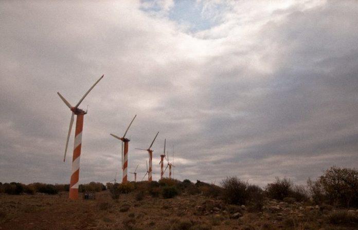 Israel wind power