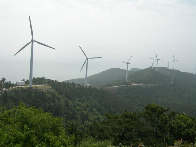 Wind energy global