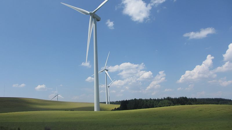 EIA Iowa wind farm