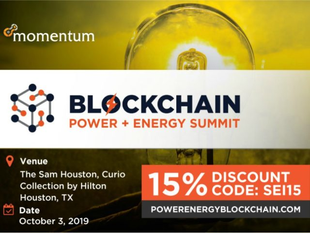 Power and Energy Blockchain Summit 2019
