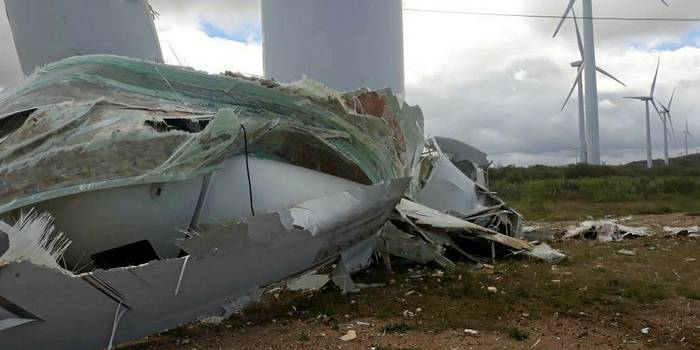 Fifth GE wind turbine collapse in 2019 leaves worker injured