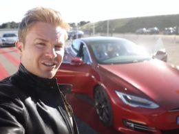 Nico Rosberg Tesla