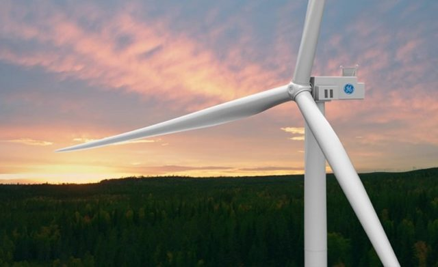 GE Google wind power