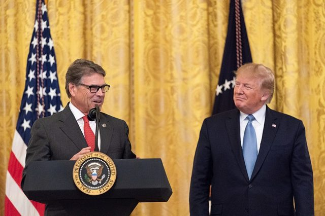 US Energy Secretary
