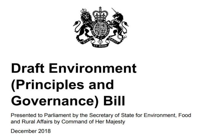 UK environment bill