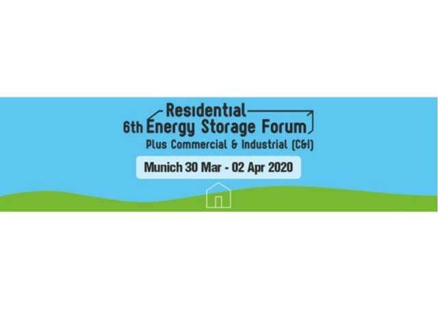 6th Residential Energy Storage Forum