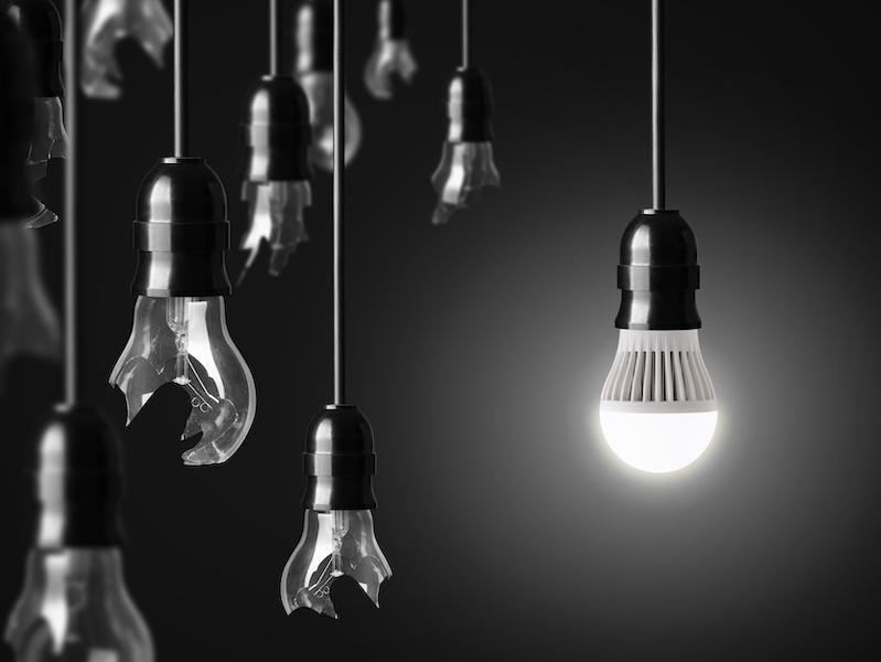 LED, light bulbs