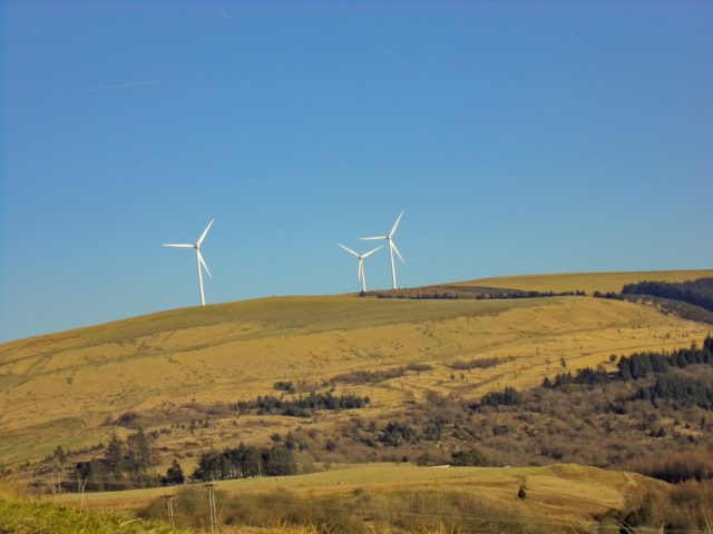 Wales wind farm