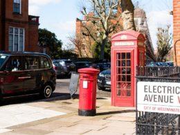 London EV charging