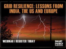 Grid resilience webinar