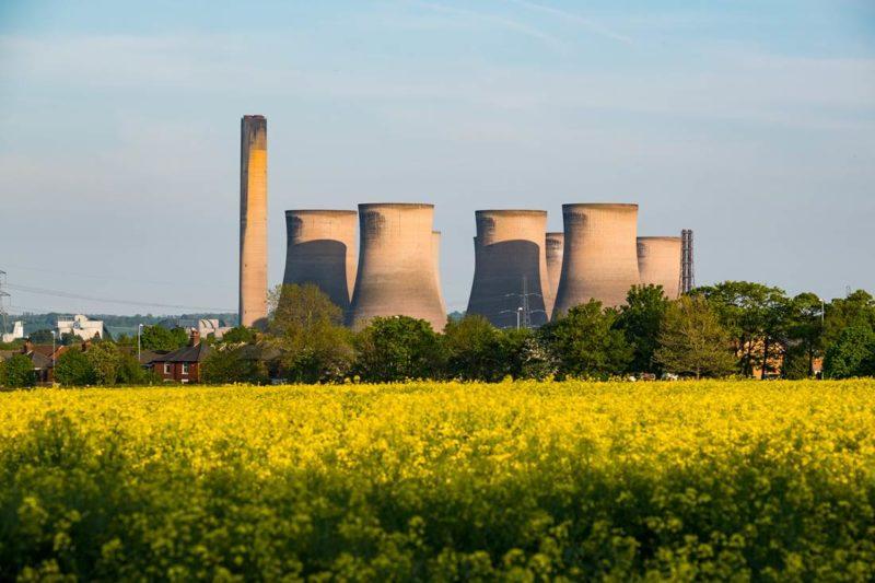 Coal plant closure