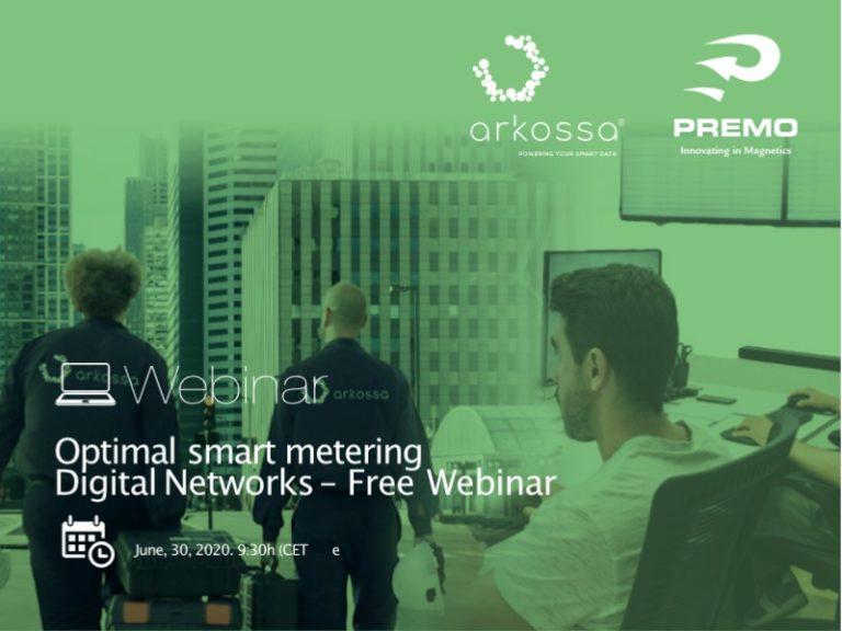 Webinar 30 June: Optimal smart metering digital networks
