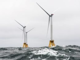 Offshore wind capacity