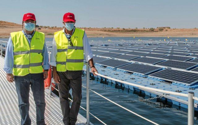 Spain floating solar