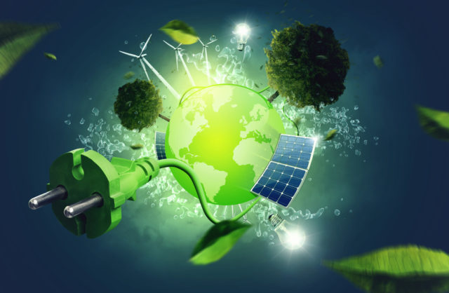 How do renewable energy sources contribute to the energy transition
