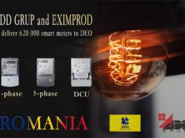 smart meters Romania