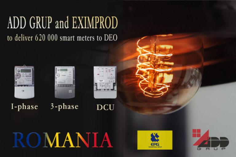ADD Grup, Eximprod begin deliveries of 620,000 smart meters in Romania