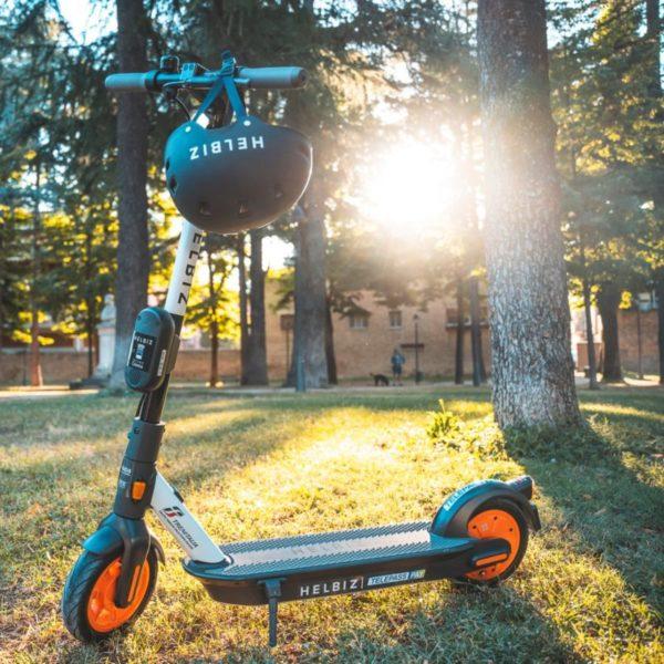 helbiz e-scooter