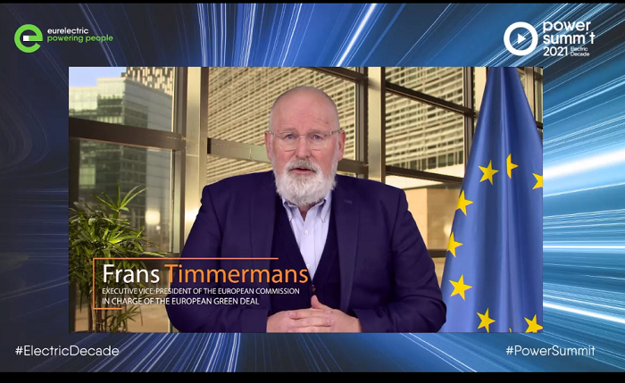 Timmermans – pace of electrification must quadruple over next decade