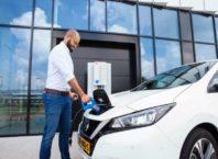 Nissan ev charging